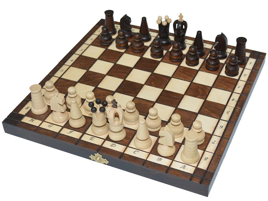 Шахи + шашки, набір настільних ігор (27х27см.)