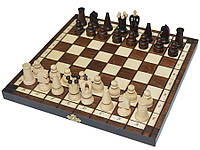 Шахматы + шашки, набор настольных игр (31х31см.)