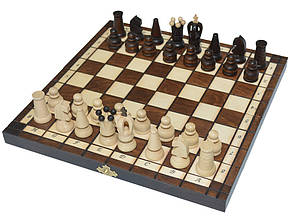 Шахматы + шашки, набор настольных игр (27х27см.), фото 2