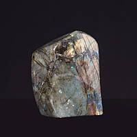 Лабрадор натуральный камень интерьерный сувенир 10х7х5см 0,900кг