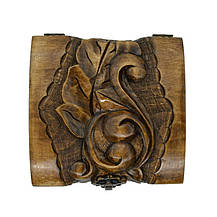 Декоративна різьблена шкатулка 30, фото 3