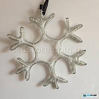 Светодиодная фигура Снежинка DELUX MOTIF Snowflake 0.40*0.40м IP44 Белый