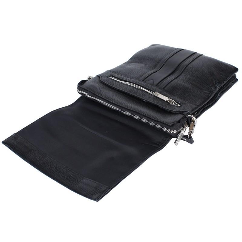 1998d1a29483 Универсальная мужская кожаная сумка-барсетка через плечо со съемной ручкой черная  Lare Boss LB0049552-31, цена 2 049 грн., купить в Киеве — Prom.ua ...