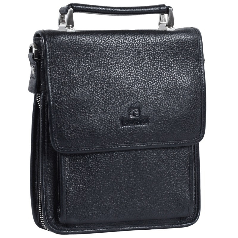 cd0817e39272 Мужская кожаная сумка-барсетка черная Lare Boss LB0049617-21. 2 094 грн