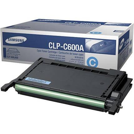 Картридж Samsung CLP-600/ 600N/ 650/ 650N cyan, фото 2