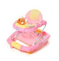 Ходунки детские TILLY (6220) (T-444 PINK), цв. розовый, с качалкой