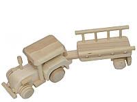Трактор с прицепом, фото 1