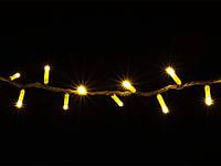 Гирлянда DELUX STRING 100LED/flash 10м внешняя Желтый