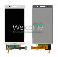 Дисплей Huawei Ascend P6-U06 with touchscreen white orig