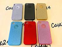 Переливающийся TPU чехол Sonic для Apple iPhone 4 / 4S (6 цветов)
