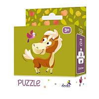 Пазлы для малышей «Лошадка» 300114 DoDo, 16 деталей