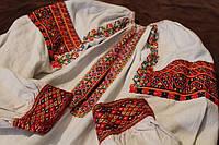 Старовинна жіноча сорочка ручної роботи конопляне полотно