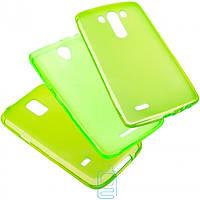 Чехол силиконовый цветной Nokia Lumia 435 зеленый