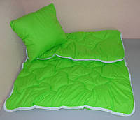 Одеяло детское с подушкой в кроватку