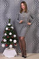 Женское теплое платье. RBOSSI P03. Размер 50-52.