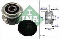Механизм свободного хода генератора FORD (производитель Ina) 535 0098 10, фото 1