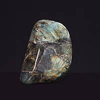 Лабрадор натуральный камень интерьерный сувенир 11х7х6см 1,120кг