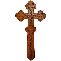 Резной крест 06, черешня, фото 1