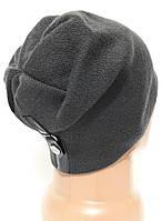 Мужская вязаная шапка Atis с кнопкой