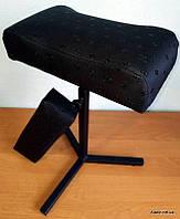 """Подставка для педикюра с валиком для маникюра.""""Black pedicure set"""""""