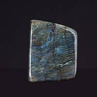 Лабрадор натуральный камень интерьерный сувенир 10х9х4см 0,880кг
