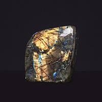 Лабрадор натуральный камень интерьерный сувенир 9х9х6см 1,090кг