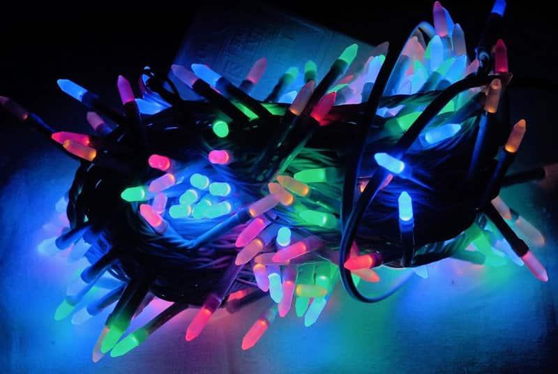 Гирлянда 200 LED Multi (Конус)