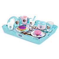 Smoby Чайный набор с подносом Frozen 310558