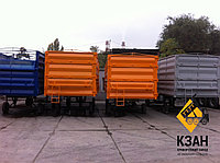 """Новый стальной кузов """"зерновоз"""" 40 м3, фото 1"""