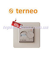 Терморегулятор для теплого пола TERNEO mex (слоновая кость), Украина