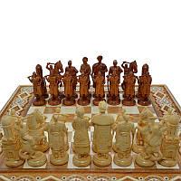 """Деревянные шахматные фигуры """"Казаки"""""""