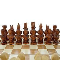 """Деревянные шахматные фигуры """"Египет"""""""
