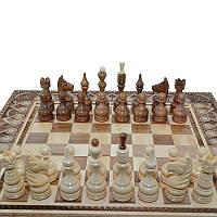 """Деревянные, резные шахматные фигуры """"Классические"""" №4. Ручная работа"""