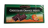 Шоколадные конфеты Maitre Truffout Chocolate Orange Mint, 200г