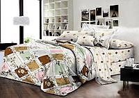 Семейный комплект постельного белья хлопок ранфорс Комфорт Текстиль