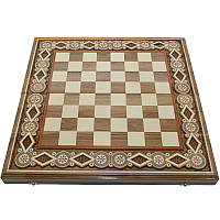 Шахматная доска. 50х50 см. Бисер