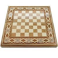 Шахматная доска. 44х44 см. Бисер