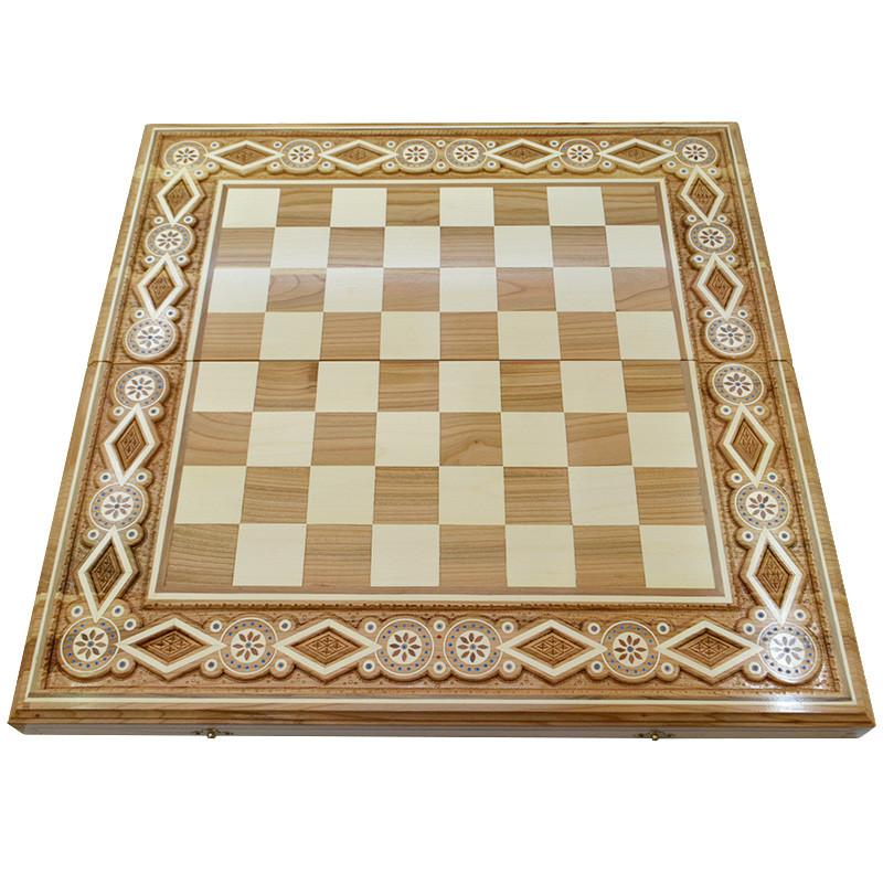 Шахова дошка. 60х60 см. Бісер