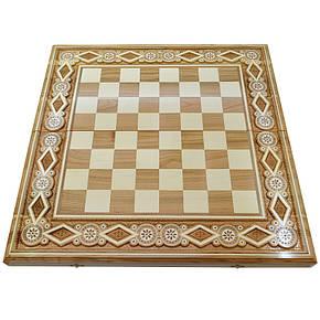 Шахова дошка. 60х60 см. Бісер, фото 2