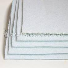 Фетр жесткий 3 мм, лист 25х25 см, белый (Китай)