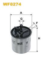 Фильтр топлива MB SPRINTER, VITO WF8274/PP841/3 (производитель WIX-Filtron) WF8274