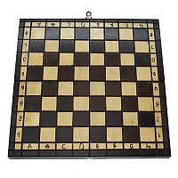 Деревянные шахматы без фигур. Доска шахматная 31 х 31 см, фото 1