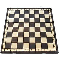 Деревянные шахматы без фигур. Доска шахматная 43 х 43 см, фото 1