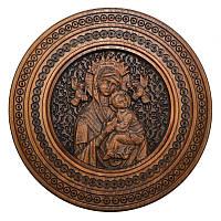 """Резная икона """"Богородица неустанной помощи"""" 29 см"""