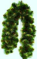 Гирлянда из сосновых искусственных веток 150 см