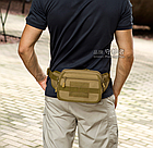 Сумка тактическая поясная Protector Plus Y104, фото 4