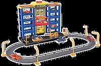 Игровой набор Dave Toy City Parking Гараж с треком, 6 машинок (32007)