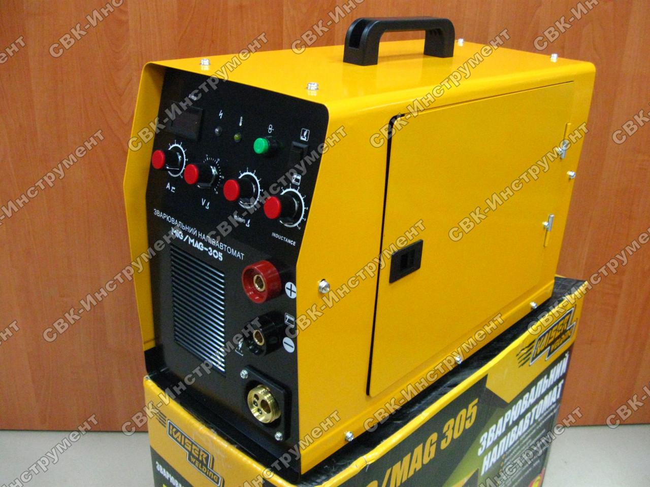 Сварочный инвертор полуавтомат Kaiser MIG-305 2в1