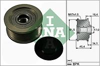 Механизм свободного хода генератора OPEL (производитель Ina) 535 0115 10