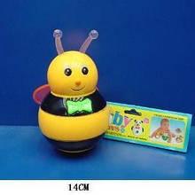 Неваляшка музыкальная Пчелка 16см